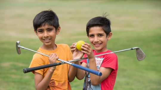 New support for clubs to involve BAME communities in golf