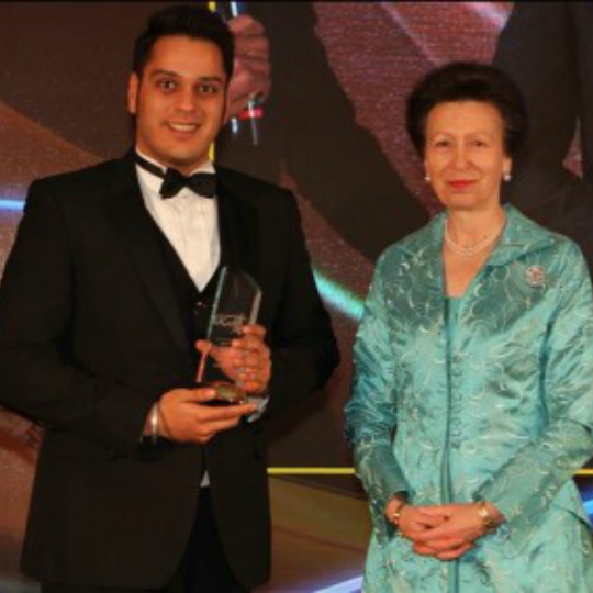 PACE Head Coach Sunil wins UK Community Coach of the Year Award