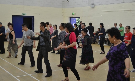 Working with Age UK to engage the South East Asian community in physical activity